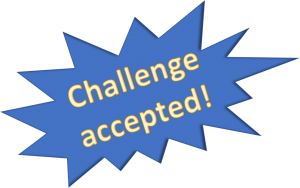 Set challenges that are doable but also move the student forward. Have them post the results on the discussion board each week. They can compare their results to other students past and present.